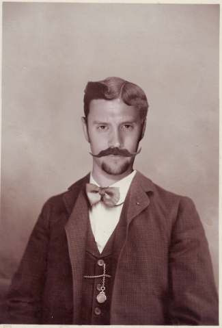 jon portrait old timey