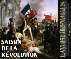 Layger Brewhaus Beer Label - Saison De La Revolution
