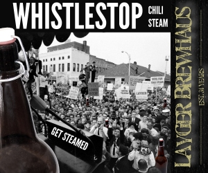 Layger Brewhaus Beer Label - Whistlestop Chili Steam
