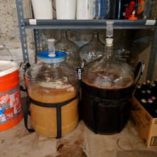 Layger Brewhaus Feb 2018 brew: KEGGED!
