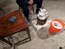 Layger Brewhaus Feb 2018 brew: wort aerator