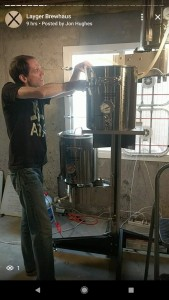 Layger Brewhaus Feb 2018 Brew